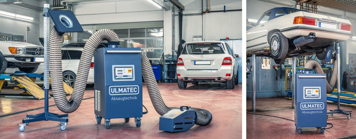 Sicheres Arbeiten mit Benzol in Kfz-Werkstätten | ULMATEC Absautechnik