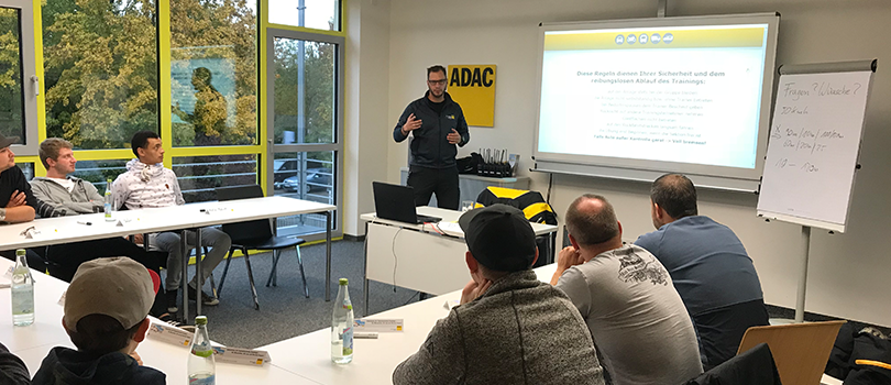Driving safety training 2018 | ULMATEC extraction systems