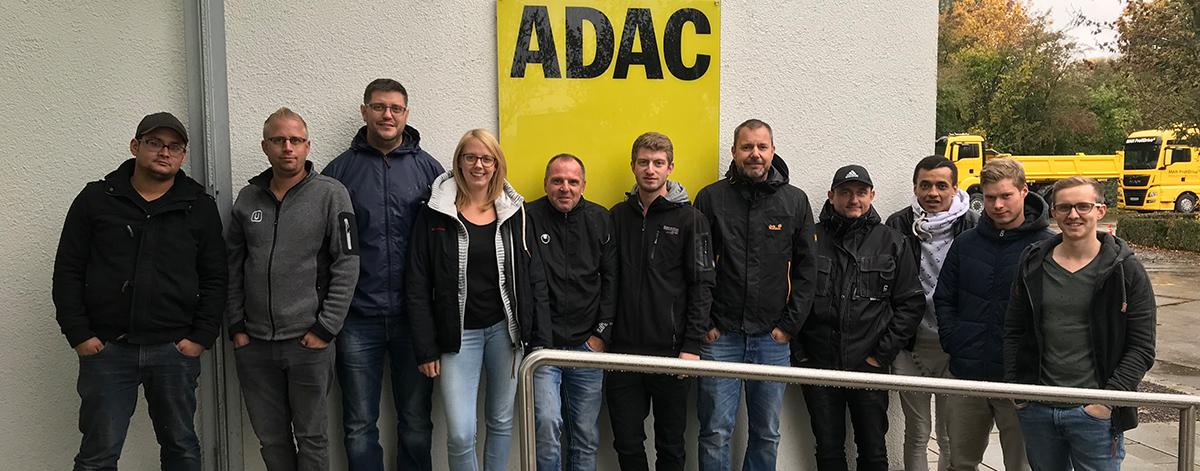 ADAC Fahrsicherheitstraining 2018 | ULMATEC Absaugtechnik