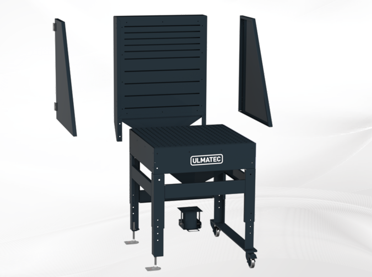 Extraction table for professionals | ATM 750 ULMATEC