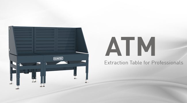 Extraction table ATM | ULMATEC GmbH
