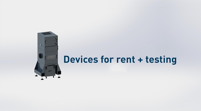 Devices for rent + testing