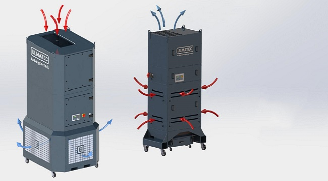 NEUHEIT - Filtertürme für Rauch/Staub/Nebel
