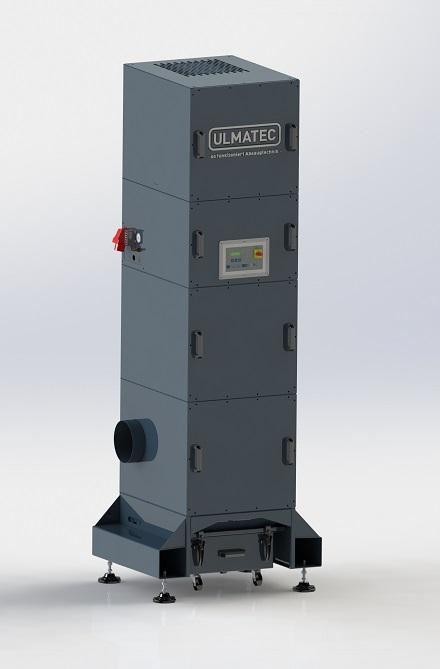 Industrieentstauber Schlauchfilter IES 2-8-2 / 3,0 MD