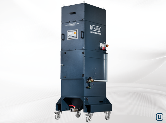 wet separator NAS mobile version with wheels  | ULMATEC GmbH