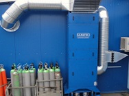 Extraction system to the suction of aluminium welding fume
