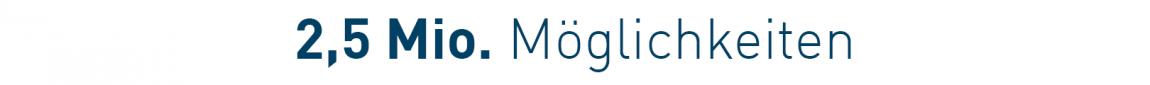 Über 2,5 Mio. Möglichkeiten | ULMATEC Absaugtechnik